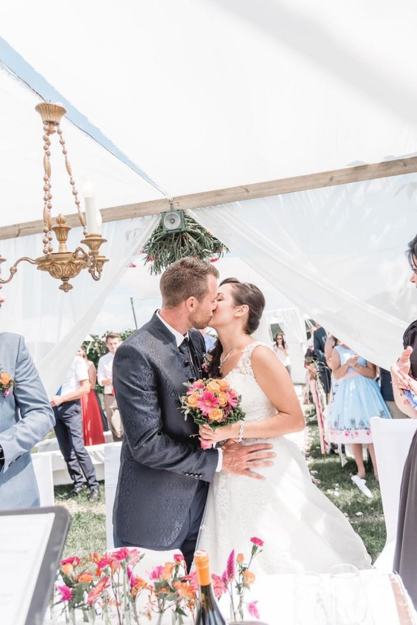 Brautpaar Der Woche Romantische Hochzeit Im Familienkreis Leibnitz