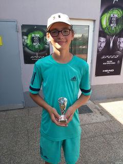 Fabian Thury wurde Zweiter bei einem Turnier.