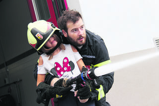 Es war ein lustiger Tag bei der Kirchdorfer Feuerwehr