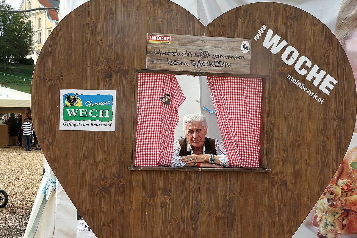 Herzliche Grüße vom Gackern - Wolfsberg
