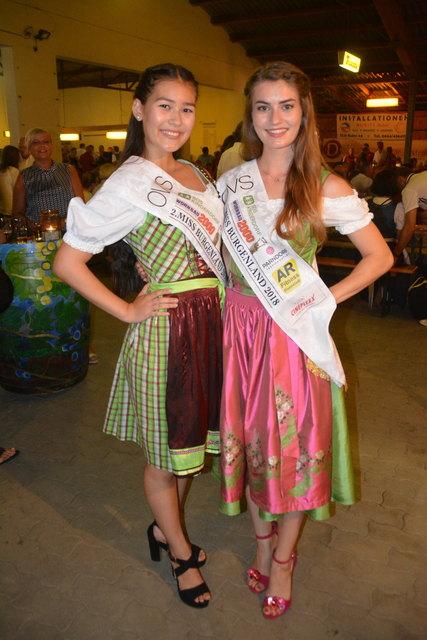 Jennifer Malits und Angelika Tuifel (re.) werden das Burgenland bei der Miss Austria Wahl vertreten.