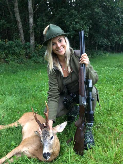 Julia Winklmayr – die Jagdprüfung mit ausgezeichnetem Erfolg bestanden: Sie setzt auf Bewusstsein bei der Jagd.
