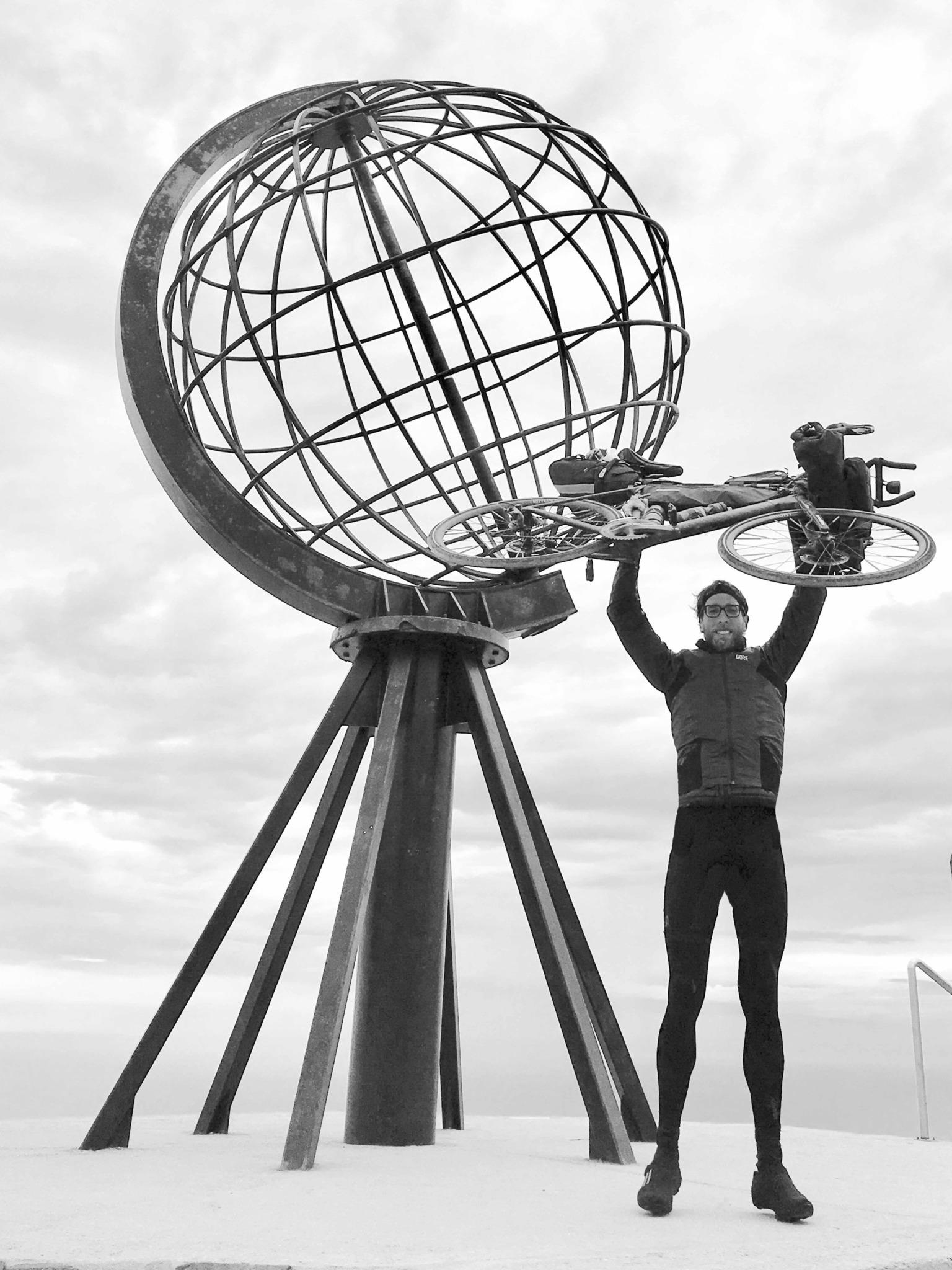 Markus Zimmermann Radelte Vom Gardasee Ans Polarmeer Gmünd