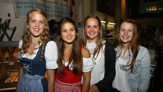 Verena Schermair, Dette Penninger, Lisa Schachermair und Julia Ratzberger aus Atzbach