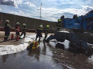 Die Feuerwehr St. Pölten - St.Georgen konnte den Brand löschen.