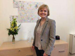Bezirkschefin Silke Kobald hat mit der bz über die heißen Themen des Bezirks gesprochen.