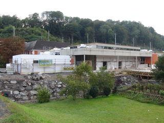 Mit neuem kombiniertem Gebäude für Musik und Kultur wird der Straßer Ortsteil Spielfeld sehr aufgewertet.