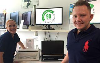 Von der Schreibmaschine zum modernen Laptop – das Büroland Wiesmayr feiert 90. Geburtstag.