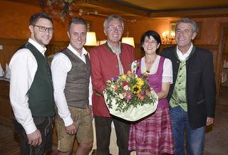 GF Peter Rottensteiner, GF Reinfried Perchtold, Andreas Walcher, Elisabeth Walcher und GF Karl Heinz Schöberl.