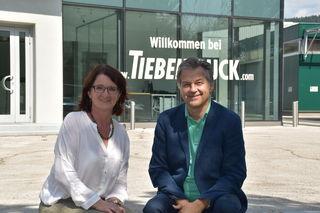 Johanna und Reinhard Bürger sind nach 30 Jahren mit ihrem Betrieb übersiedelt. Nun ist alles unter einem Dach