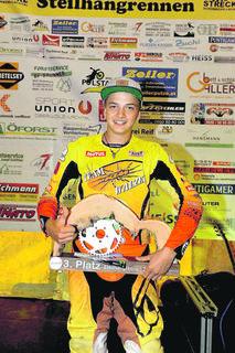 Maurice Egger (Team KTM Walzer) belegte Rang drei.