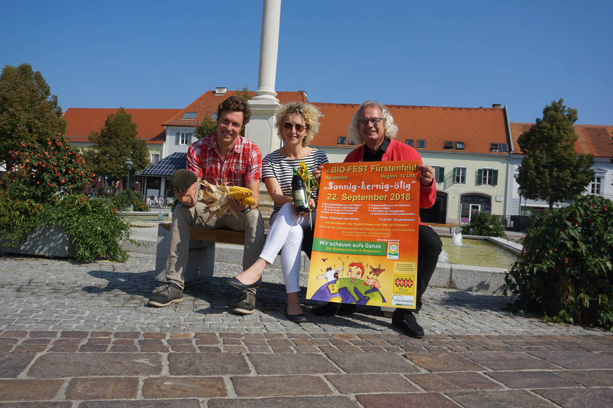 Das 8. Bio Fest schmeckt nach Sonne   Hartberg Fürstenfeld