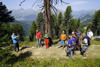 Vom 27.08 – 30.08.2018 veranstaltete der Tourismusverband Tiroler Oberland in Nauders eine Trailbauschulung für Trail- und Wegbauer der Region.