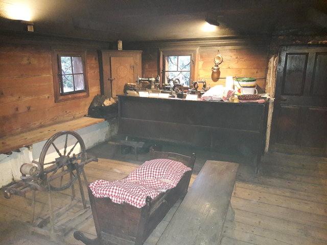 Das Rauchstubenhaus ist zugleich ein Heimatmuseum.