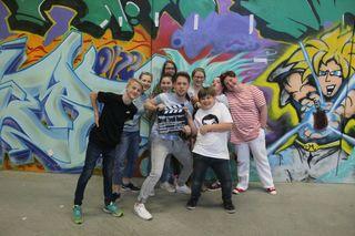Schauspielakademie St. Pölten: In der Gruppe darf ausprobiert und kennengelernt werden.