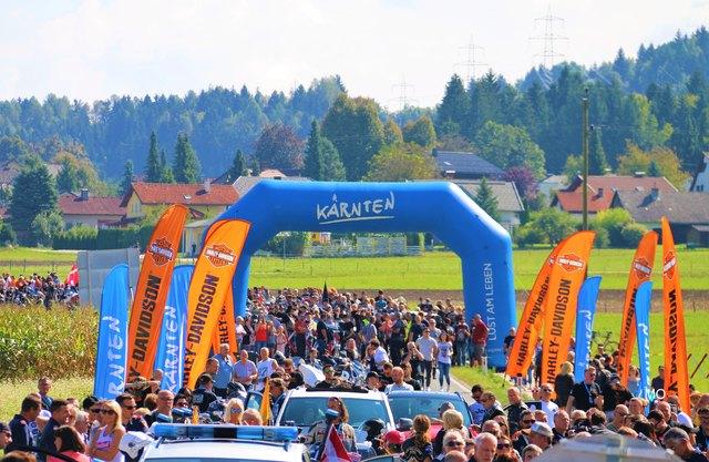 21. European Bike Week, Faaker See, Kärnten, Austria, Europäische Motorradwoche 2018, Faak am See, Harley-Davidson Treffen, Harley Parade