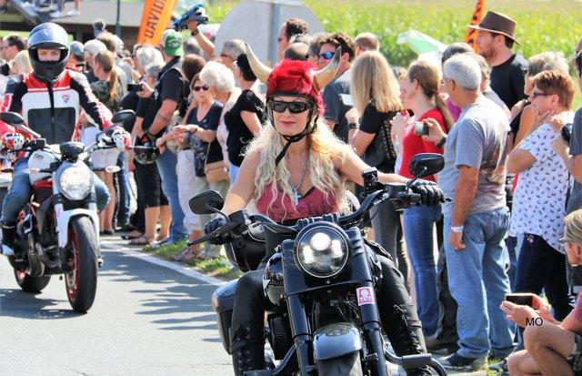 European Bike Week 2018, Harley-Davidson Treffen am Faaker See, Faak am See, Kärnten, Harley Parade