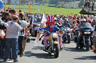 Harley Parade, Faak am See, European Bike Week,