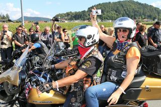European Bike Week Faak am See in Kärnten Austria, Parade
