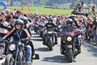 Harleyparade, Faakersee