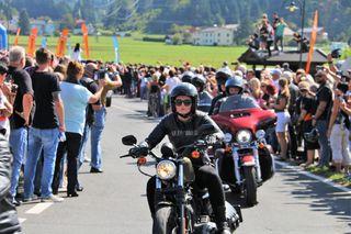 Harley Davidson Parade, European Bike Week, Faak am See