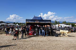 Eeurobean Bike Week, Harley Village, Faak am See