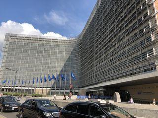 Das Berlaymont-Gebäude ist der Sitz der Europäischen Kommission in Brüssel