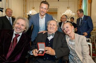 Mit Thomas Gottschalk, Gernot Blümel und Frau Angelika
