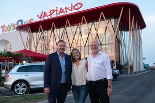 Das erste Vapiano in Parndorf eröffnete.