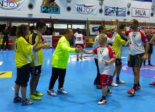 So sehen Sieger aus: Die Special Teams aus Graz, Wien und Vorarlberg zeigten in Krems, wie gut sie Handball spielen können.