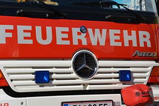 Die Feuerwehr St. Michael konnte den Brand rasch löschen (SYMBOLBILD)