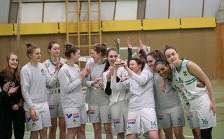 Die UBI-Graz-Mädels wollen beim Turnier in Graz jubeln.