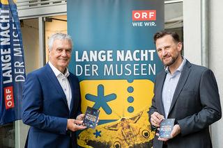 """Freuen sich bereits auf das vielfältige Programm bei der """"Langen Nacht der Museen"""": Gerhard Draxler und Richard Siwy"""