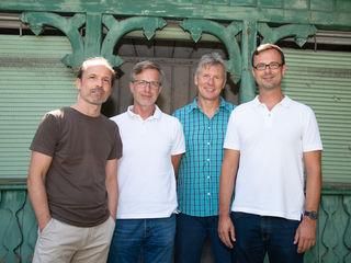 Das neue Team der Männerberatung der Caritas in St. Pölten (von links): Manfred Faschingeder, Josef Aigner, Erwin Hayden-Hohmann und Herbert Oswald.