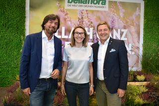 GF Franz Koll, Patricia Schweiger-Bodner und Bgm. Günther Albel
