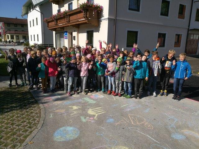 """In Breitenbach """"blühten"""" bereits 2017 die Straßen während der Europäischen Mobilitätswoche. Auch heuer können sich die Bürgerinnen und Bürger auf ein buntes Programm freuen."""