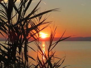 12.09.2018 der Sonnenuntergang am Neusiedlersee ist immer sehenswert