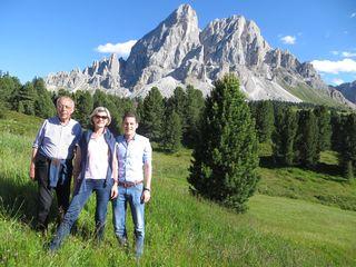 Familienunternehmen: Josef, Doris und Matthäus Thurner arbeiten gemeinsam für den Erfolg