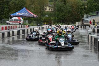 Der Grand Prix von Krieglach mutierte zum Regenrennen.