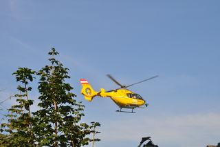 Der 8-Jährige wurde mit dem Rettungshubschrauber in das UKH Klagenfurt gebracht