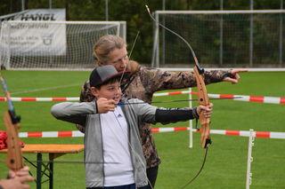 Acht sportliche Pfundser Vereine- sowie das Jugendzentrum und der ASKÖ Landesverband Tirol luden zum Ausprobieren und Mitmachen ein.