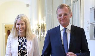 Landesrätin Christine Haberlander und Landeshauptmann Thomas Stelzer.