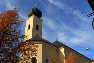 Die Kirche in Reutte