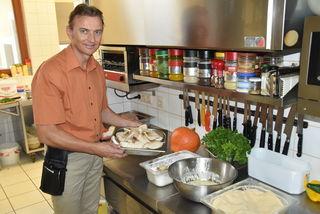 Schwammerl- und Kürbisgerichte stehen jetzt im Herbst im Gasthaus von Josef Kurta besonders hoch im Kurs.