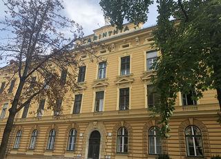 Zeitzeuge der Monarchie: Das Druck- und Verlagshaus Carinthia, 1893 errichtet, wo auch die WOCHE Klagenfurt und WOCHE-Zentrale untergebracht sind