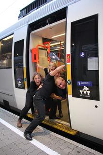 Eine etwas andere Zugreise: am 22. September wird in der S-Bahn Theater gespielt