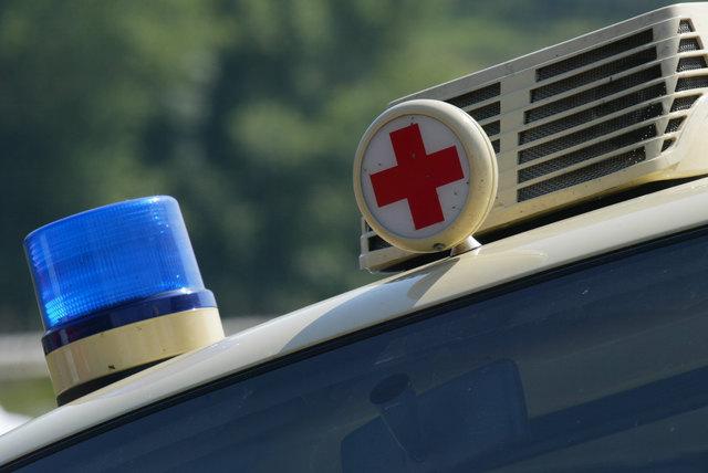 Ein 70-jähriger Mann wurde nach einem Unfall ins Krankenhaus gebracht.
