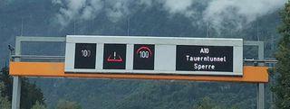 Nah dem Unfall im Katschbergtunnel musste auch der Tauerntunnel Richtung Süden gesperrt werden.
