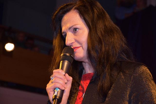 Direktorin Maria Reindl, Neue Musik-Mittelschule Saxen.