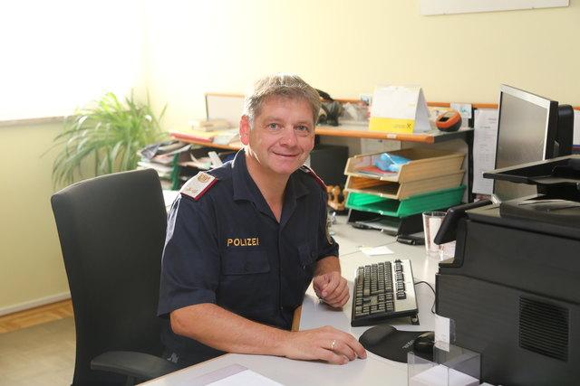 Der neue Dienststellenleiter Günter Kreimer hat am 1.9. seinen Dienst in St. Ruprecht angetreten